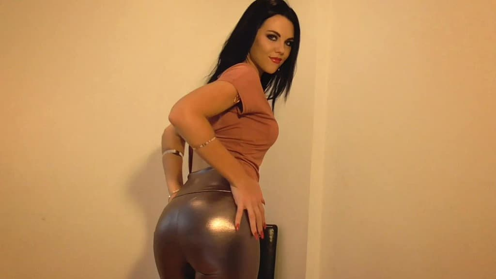 Shiny Ass Worship slave